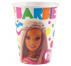 Kubeczki papierowe Barbie...