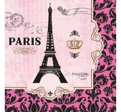 """Serwetki """"A Day In Paris"""",..."""
