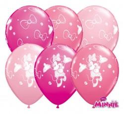 """Balon 11"""" QL Minnie pastel mix"""