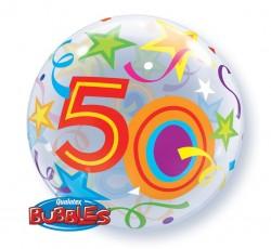 "Balon QL 22"" Bubble 50..."