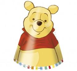 """Czapeczki papierowe """"Winnie..."""