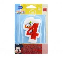 """Świeczka Disney """"Mickey 4"""""""