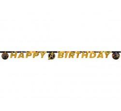 Banner urodzinowy AVENGERS...