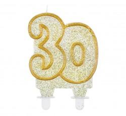 """Świeczka cyferka """"30"""",..."""