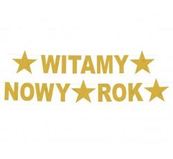 Girlanda Baner Witamy Nowy...
