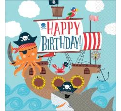 Serwetki Ahoy Birthday...