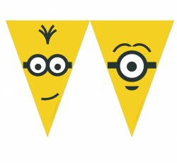 """Banner """"Minions Adults"""",..."""