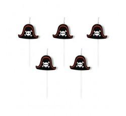 Świeczki urodzinowe Piraci,...