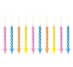 Świeczki urodzinowe, mix,...