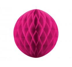 Kula bibułowa, c. różowy, 30cm