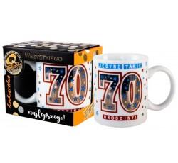 Kubek Premium Urodziny 70