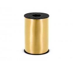 Wstążka plastikowa, złoty,...