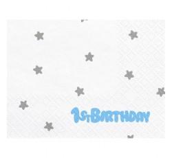 Serwetki 1st Birthday,...