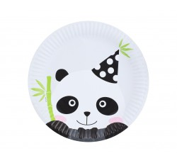 Talerzyki papierowe PANDA,...